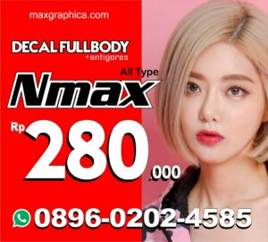 2021 nmax kpop 2 decal nmax fullbody murah maxgraphica cutting sticker sidoarjo